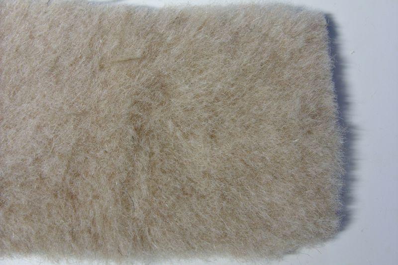 Шерсть ламы односторонняя - внешний слой